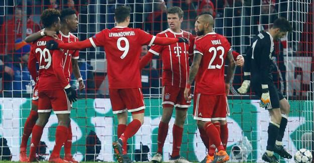 Bayern Münih-Beşiktaş Maç Özeti! Bayern Münih Farka Koştu