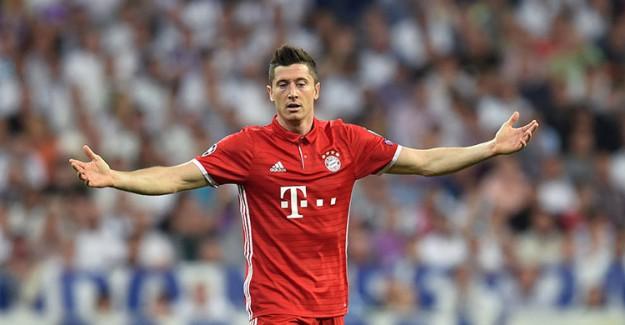 Bayern Münih'e Lewandowski Şoku!