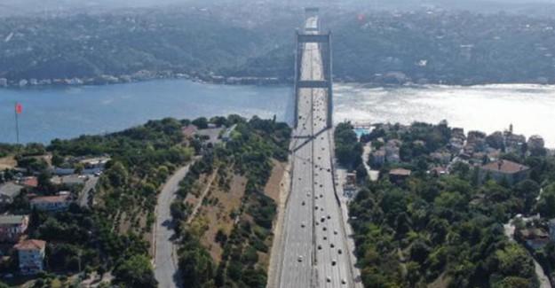 Bayramda İstanbul'da Trafik Yoğunluğu Yüzde 8'e Kadar Düştü