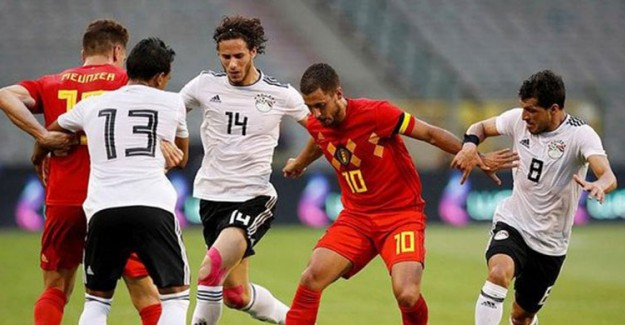 Belçika Mısır'ı Rahat Geçti!