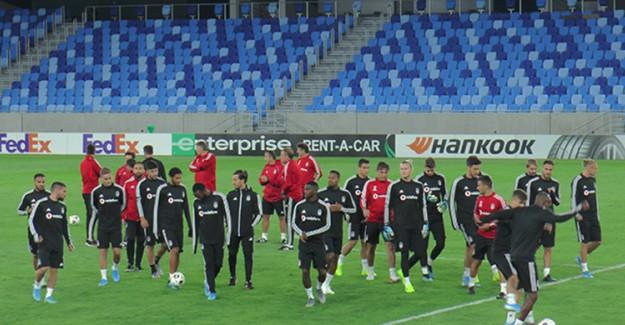 Beşiktaş, Bratislava Maçına Hazırlıklarını Bitirdi