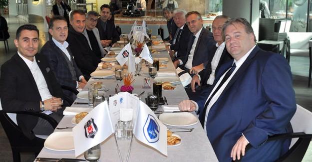 Beşiktaş'tan Genk Yönetimine Jest!