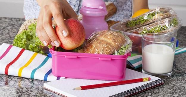 Beslenme Çantasında 4 Temel Besin Grubu Bulunmalı