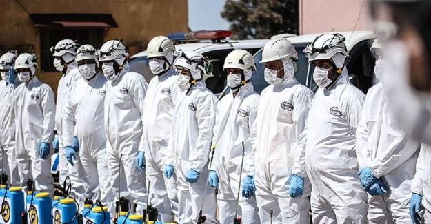 Beyaz Baretliler'den İdlib'de Coronavirüsle Mücadelede Yardım Talebi