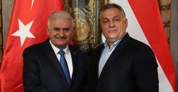 Binali Yıldırım Macar Mevkidaşıyla Buluştu