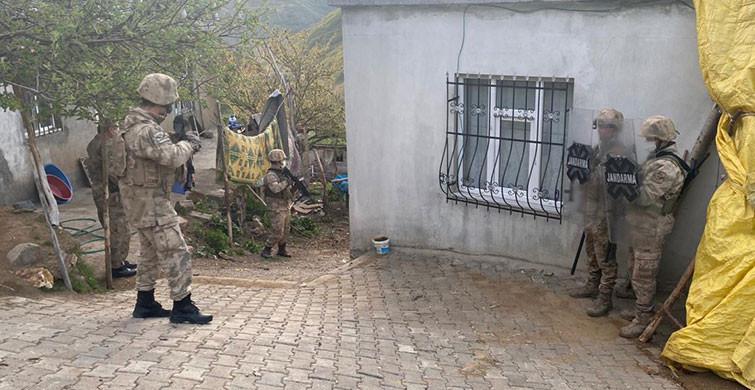Bitlis Merkezli PKK Operasyonunda 9 Kişi Gözaltına Alındı
