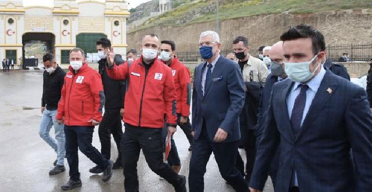 BM Genel Kurul Başkanı Volkan Bozkır Hatay'ı Ziyaret Etti