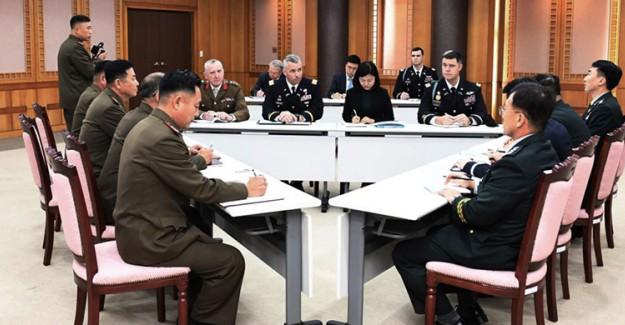 BM, Kuzey ve Güney Kore ile Ortak Güvenlik Alanını Silahsızlandırma Planı Yaptı