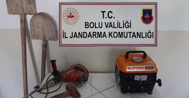 Bolu'da Kaçak Kazı Operasyonu: 6 Gözaltı