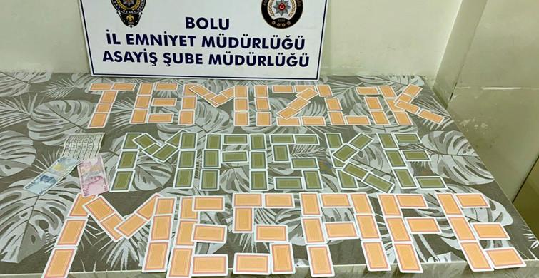 Bolu'da Kumar Oynayan 6 Kişiye 12 bin 600 Lira Ceza