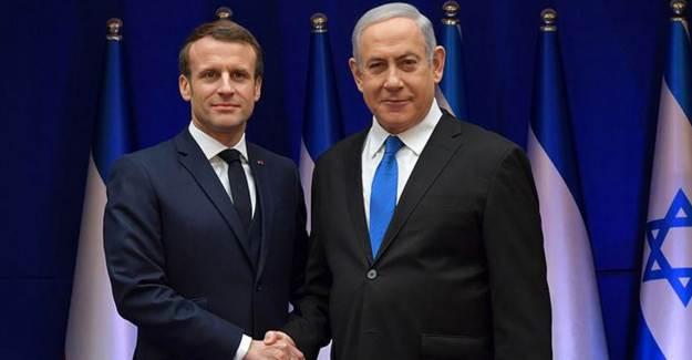 Boykot Kararları Sonrası İsrail'den Macron'a Destek