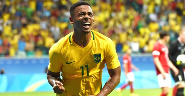 Brezilya Gabriel Jesus'la Almanya'yı Devirdi!