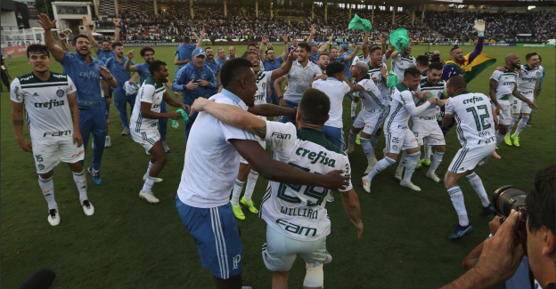 Brezilya Serie A'nın Şampiyonu Palmeiras!