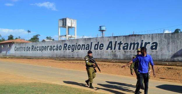 Brezilya'da Hapishanedeki Çete Kavgasında Ölü Sayısı 57'ye Çıktı