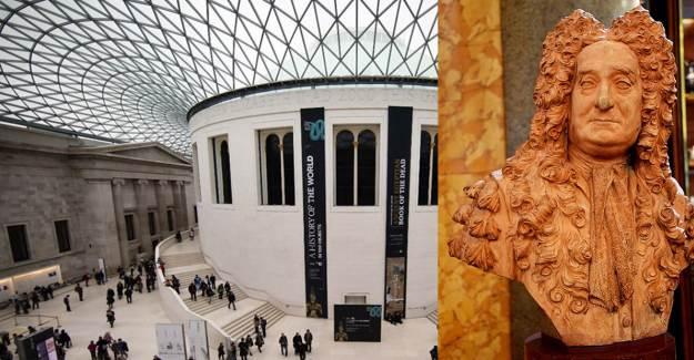 British Museum'den Köleci Kimliğe Sahip Sir Hans Sloane Büstünü Sergiden Çıkardı