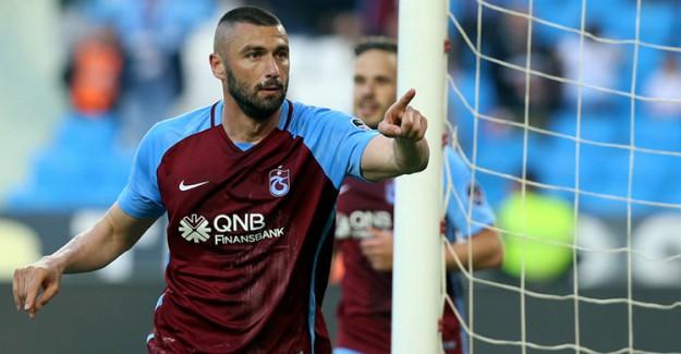 Burak Yılmaz Trabzonspor'da Kaldı!