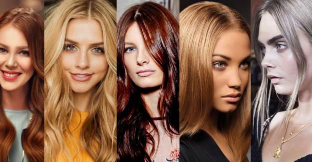 Burca Göre Saç Renkleri