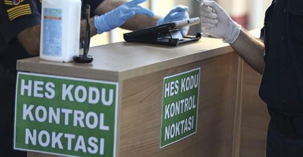 Bursa'da HES Kodu Zorunluluğu