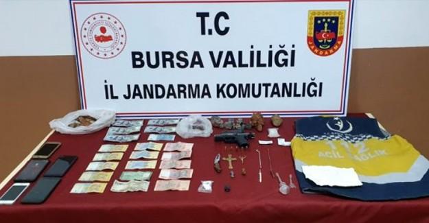 Bursa'da Tarihi Eser Kaçakçılığı Yapan 3 Kişi Yakalandı