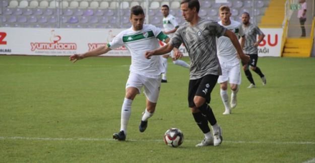 Bursaspor Hazırlık Maçında Alatay'ı Yendi