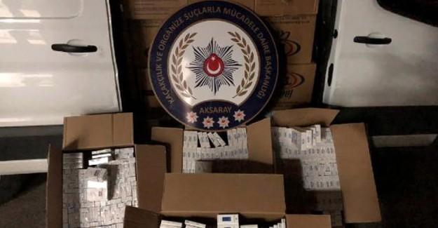 Çakarlı Araçla Sigara Kaçakçılığı Yapan Polis, Suçüstü Yakalandı!