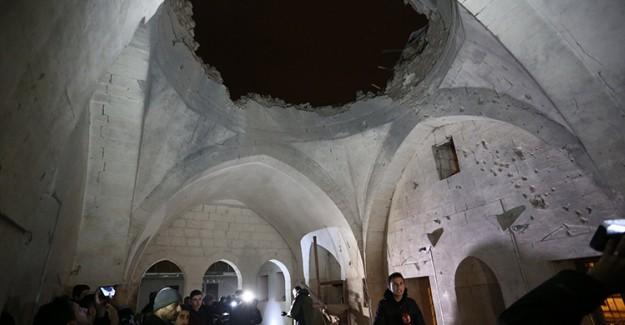 Camiye Bombalı Saldırı Gerçekleştirildi