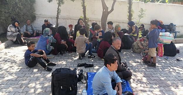 Çanakkale'de 72 Kaçak Göçmen Gözaltına Alındı