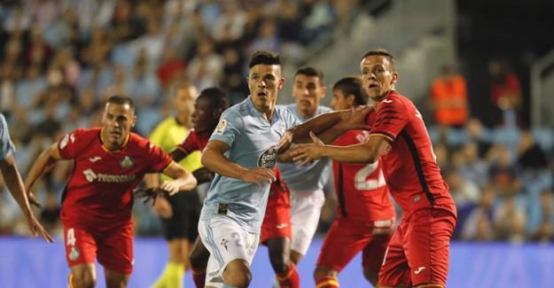 Celta Vigo Evinde Getafe'ye Takıldı!