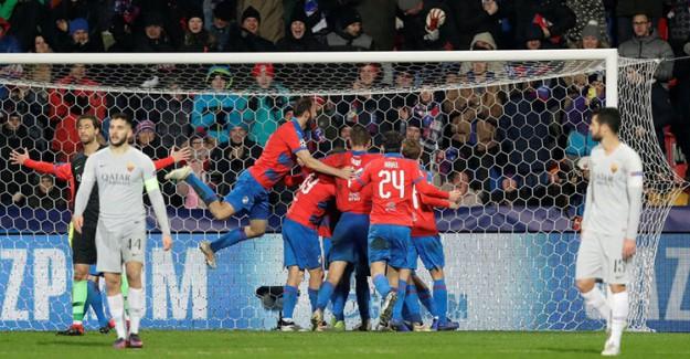 Cengiz'in Golü Roma'ya Yetmedi, Plzen UEFA Biletini Kaptı!