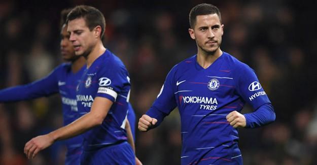 Chelsea, Eden Hazard'la Güldü!