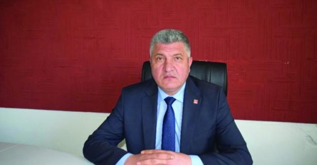 CHP Akçadağ İlçe Başkanı Ali Aslan İstifa Etti