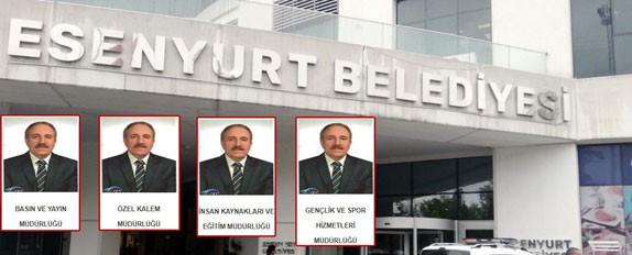 CHP'li Esenyurt Belediyesi'nde 1 Kişiye 4 Müdürlük Verildi!