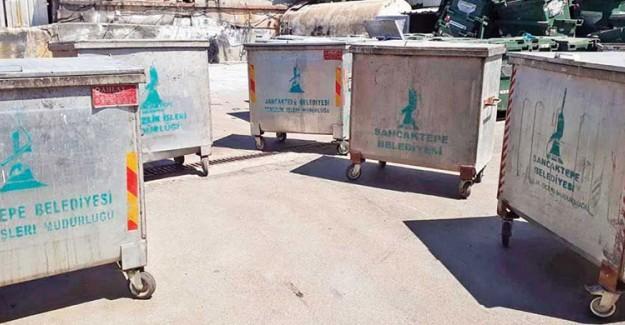 CHP'li Maltepe Belediyesi AK Partili Belediyeden 15 Tane Çöp Konteyneri Çaldı