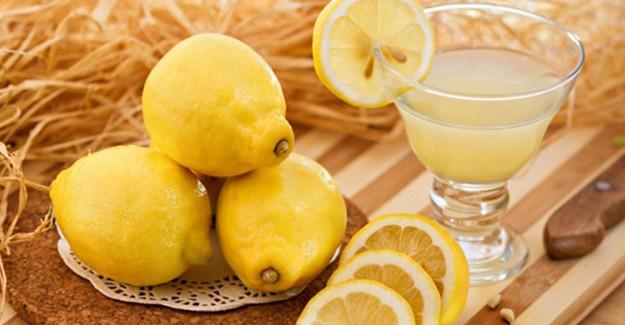 Cilt Lekelerine Karşı Limon Suyu