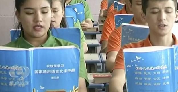 Çin Eğitim Kamplarını Yasadışı Bir Şekilde Yönetiyor