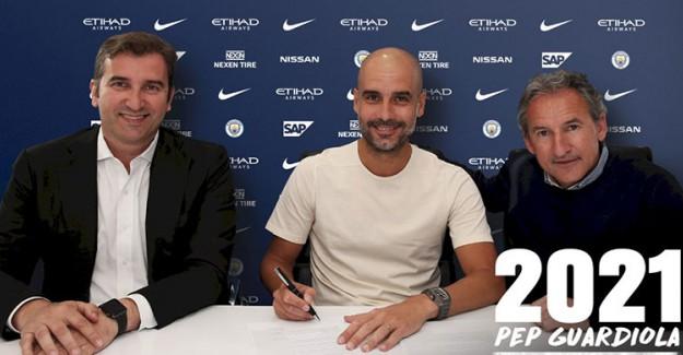 City 2021'e Kadar Guardiola'ya Emanet!