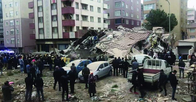 Çöken Binada Ölen Ve Yaralananların Kimlikleri Belli Oldu