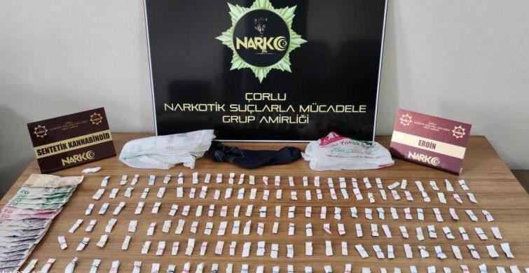 Çorlu'da Uyuşturucu Operasyonu Yapıldı