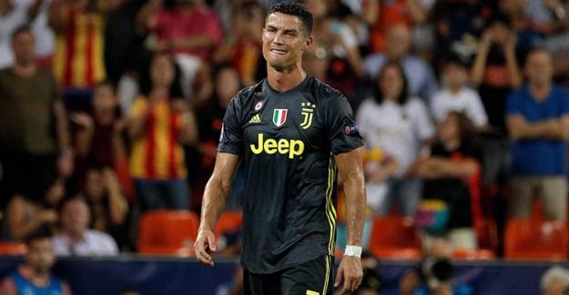 Cristiano Ronaldo'nun Cezası Belli Oldu!