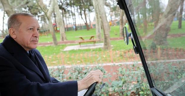 Cumhurbaşkanı Erdoğan 15 Temmuz Millet Bahçesini Gezdi