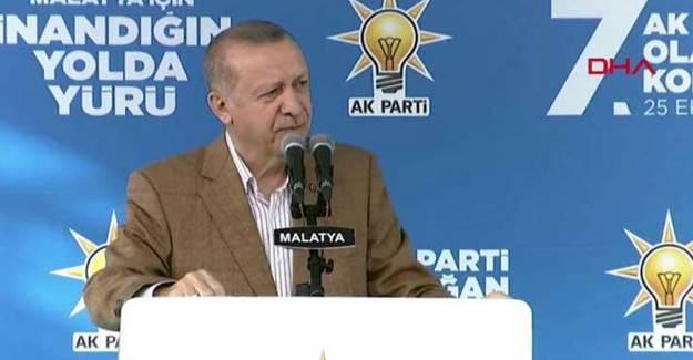 Cumhurbaşkanı Erdoğan Malatya 7. Olağan İl Kongresinde Açıklamalarda Bulundu