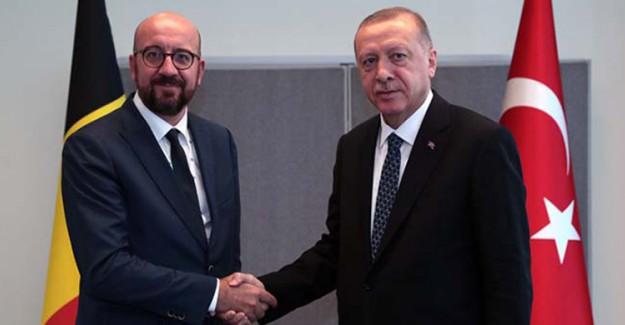 Cumhurbaşkanı Erdoğan, Belçika Başbakanı Michel'le Görüşme Sağladı