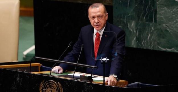 Cumhurbaşkanı Erdoğan, BM Genel Kurulu'nda ABD'ye Yüklendi!