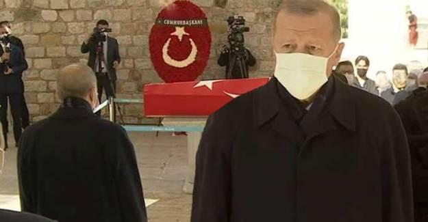 Cumhurbaşkanı Erdoğan Burhan Kuzu'nun Cenazesine Katıldı