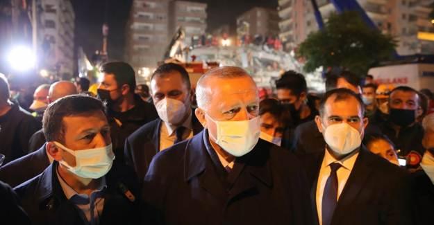 Cumhurbaşkanı Erdoğan Deprem Bölgesine Gitti