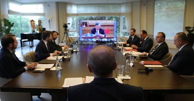 Cumhurbaşkanı Erdoğan G20 Liderler Olağanüstü Zirvesi'ne Katıldı