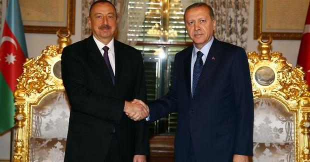 Cumhurbaşkanı Erdoğan, İlham Aliyev İle Görüştü