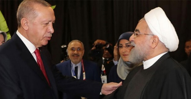 Cumhurbaşkanı Erdoğan, İran Lideri Ruhani İle Görüştü