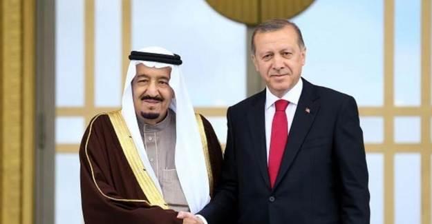 Başkan Erdoğan, Kral Selman İle Görüştü