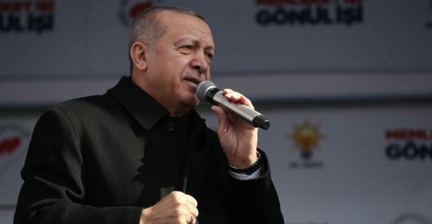 Cumhurbaşkanı Erdoğan: Kürdistan Kuzey Irak'ta, Çok Seviyorlarsa Oraya Gitsinler